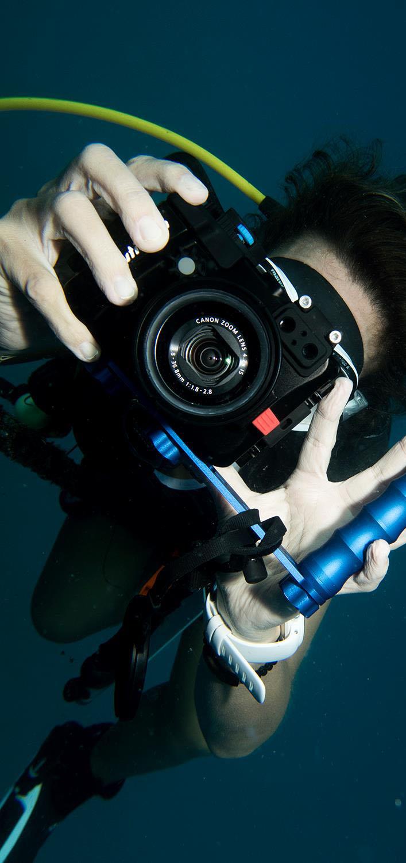 Underwater Photography Underwater Videography Scuba Diving Photographer Ocean Sea Underwater Camera Casing